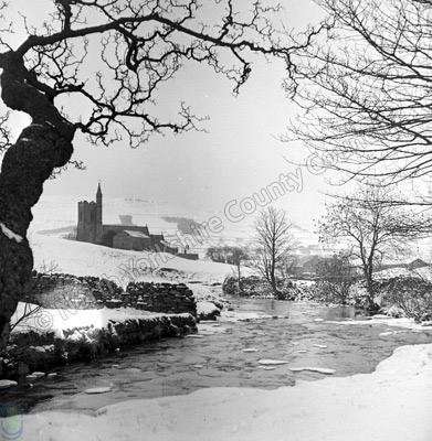 River Ure and Hawes Church